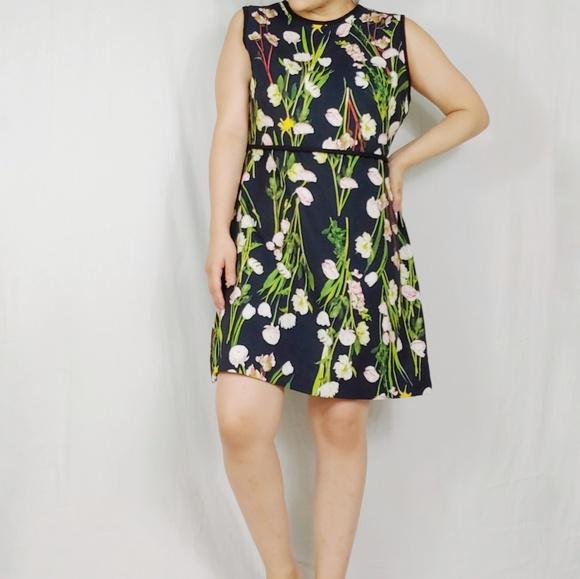 Victoria Beckham for Target Dresses & Skirts - Victoria Beckham Floral Fit and Flare Dress
